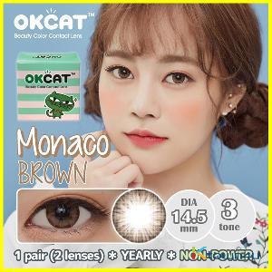 [OKCAT LENS] [无度数] OKCAT Monaco Brown