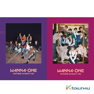 WANNA ONE - To Be One Prequel 后续专辑 [1-1=0(NOTHING WITHOUT YOU)] (版本随机)
