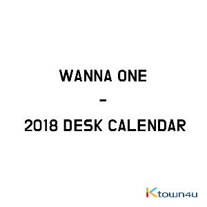 WANNA ONE - 2018 LOTTERIA DESK CALENDAR