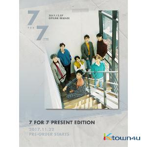 GOT7 - Album [7 for 7] (PRESENT EDITION) (STARTY HOUR Ver)