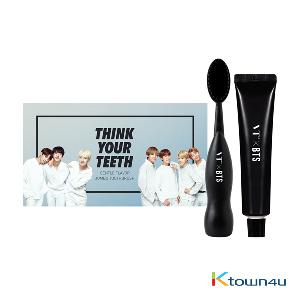 BTS - JUMBO TOOTH BRUSH KIT Limited Edition [VTXBTS] (BLACK VER)