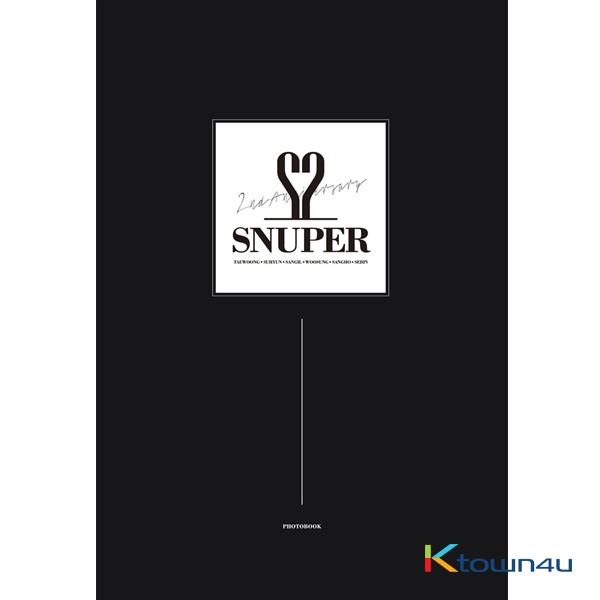 [Photobook] SNUPER - SNUPER 2nd ANNIVERSARY PHOTOBOOK