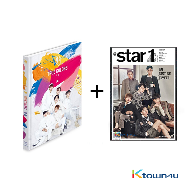 [SET] At star1 2017.10 (Cover : JBJ) + JBJ - Mini Album Vol.2 [True Colors] (Volume II - II Ver.)