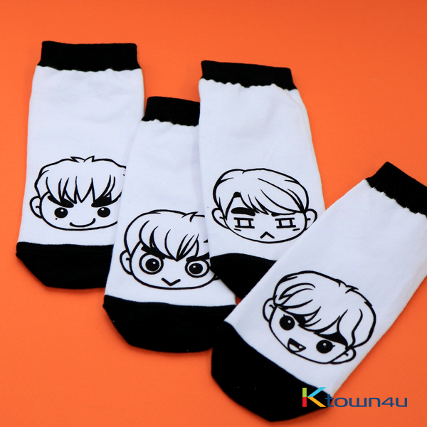 GOT7 - GOTOON SOCKS [GOT7♥I GOT7 4RD FAN MEETING]