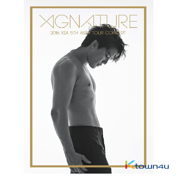[DVD] XIA(JYJ) - 2016 XIA 5th Asia Tour Concert XIGNATURE DVD