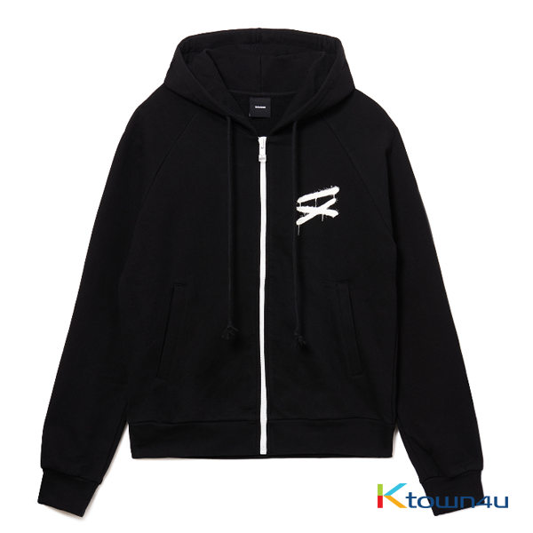 [IKON] [MEN'S] NONA9ON - YOUTH ZIP-UP HOODIE (BK)