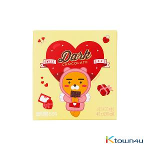 [KAKAO] Sweet Love Dark Chocolate 40g