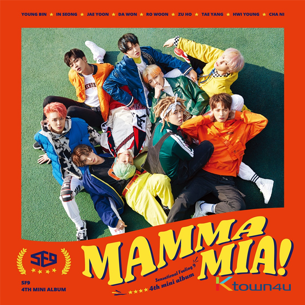 SF9 - Mini Album Vol.4 [MAMMA MIA!]