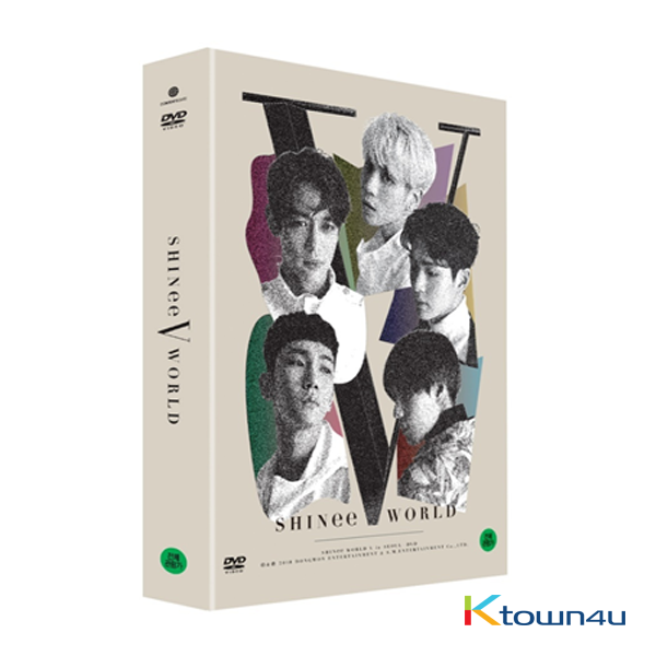 [DVD] SHINee - SHINee WORLD V in Seoul DVD 五巡首尔演唱会