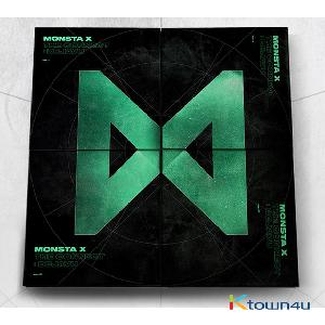 [SET][4CD + 4POSTER SET] MONSTA X - [THE CONNECT : DEJAVU] (Ⅰ Ver. + Ⅱ Ver. + Ⅲ Ver. + Ⅳ Ver.)