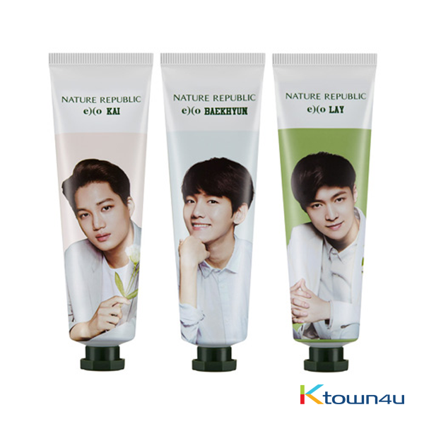 EXO 护手霜套装限量版 [NATURE REPUBLIC] [EXO EDITION] - EXO Hand Cream Set (Limited Edition)