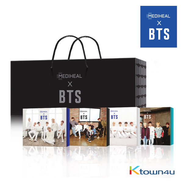 [MEDIHEAL X BTS] BTS - 4p Special Package Limited Edition (*Photocard gift)