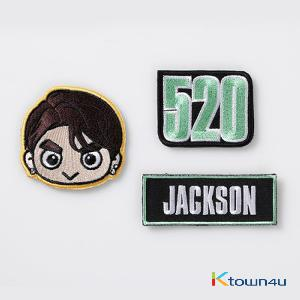 GOT7 - VELCRO WAPPEN SET [EYES ON YOU 2018 WORLD TOUR] (*Order can be canceled cause of early out of stock)