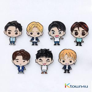 GOT7 - GOTOON BADGE [EYES ON YOU 2018 WORLD TOUR] (JACKSON)
