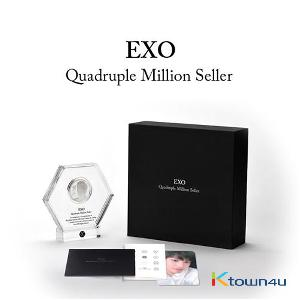 EXO - Official Medal General type [Quadruple Million Seller]