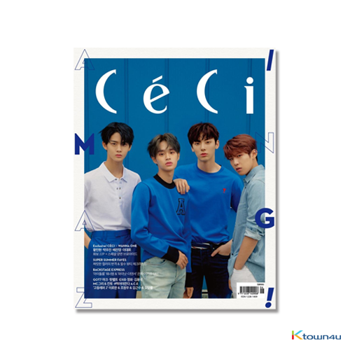 CECI ANOTHER CHOICE 2018.06 A ver (Wanna One : Hwang Min Hyun, Park Woo Jin, Bae Jin young, Lee Dae Hwi 22p) *Bromide Gift