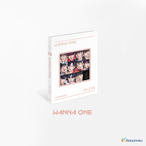 WANNA ONE - Special Album [1÷χ=1 (UNDIVIDED)] (Wanna One Ver.)