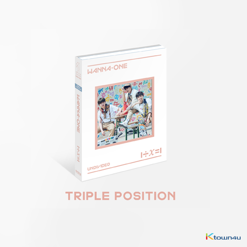 WANNA ONE - Special Album [1÷χ=1 (UNDIVIDED)] (Triple Position Ver.)