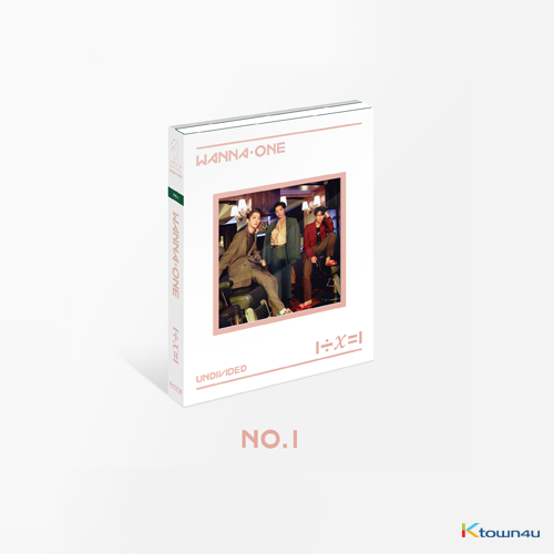 WANNA ONE - Special Album [1÷χ=1 (UNDIVIDED)] (No.1 Ver.)