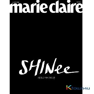 Marie claire 2018.06 B Type (SHINee Cover Edition) *Cover Image wiil be update soon