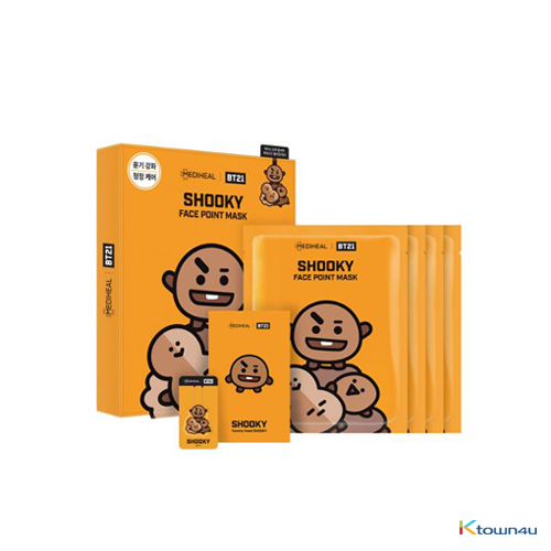 [BT21] MEDIHEAL FACE POINT MASK : SHOOKY (*Order can be canceled cause of early out of stock)