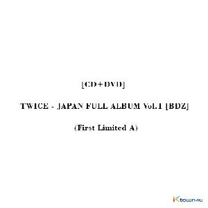 [CD+DVD] TWICE - JAPAN FULL ALBUM Vol.1 [BDZ] (First Limited A)