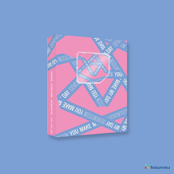 Seventeen - Mini Album Vol.5 [YOU MAKE MY DAY] (SET THE SUN Ver.) (Kihno Album)