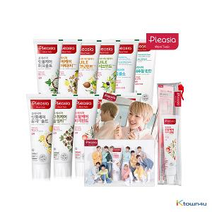 [Pleasia] Wanna One Pleasia Toothpaste Kit + Unrevealed Photo card gift Limited Edition (*Order can be canceled cause of early out of stock)