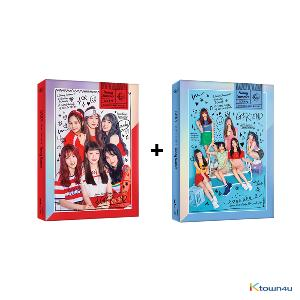 [SET][2CD SET] GFRIEND - Mini Album Vol.7 [Sunny Summer] (Sunny Ver. + Summer Ver.) * to buy poster, please select the poster option