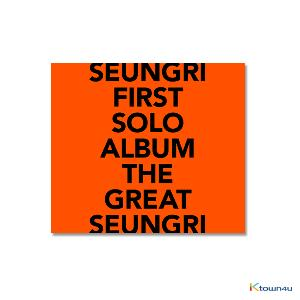 胜利 Big Bang : Seung Ri - Album Vol.1 [THE GREAT SEUNGRI] (ORANGE Ver.) (Only Ktown4u's Special Gift: transparent photocard Random 2 pcs)