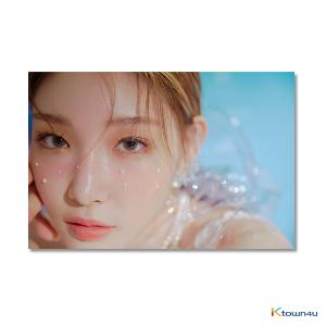 [Signed Edition] CHUNG HA - Mini Album Vol.3 [Blooming Blue] (Stock date can be delaying cause of artist issue, so the item should be ordered independently.)