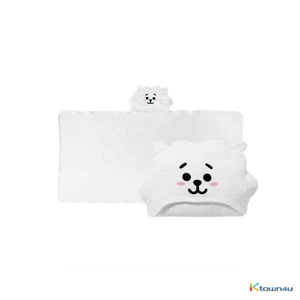 [BT21] HOOD TOWEL : RJ (*Order can be canceled cause of early out of stock)