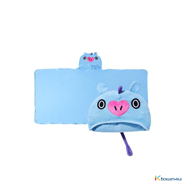 [BT21] HOOD TOWEL : MANG (*Order can be canceled cause of early out of stock)