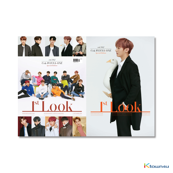 [杂志] 1ST LOOK- Vol.162 (封面 : WANNA ONE / 封底 : 尹智圣)