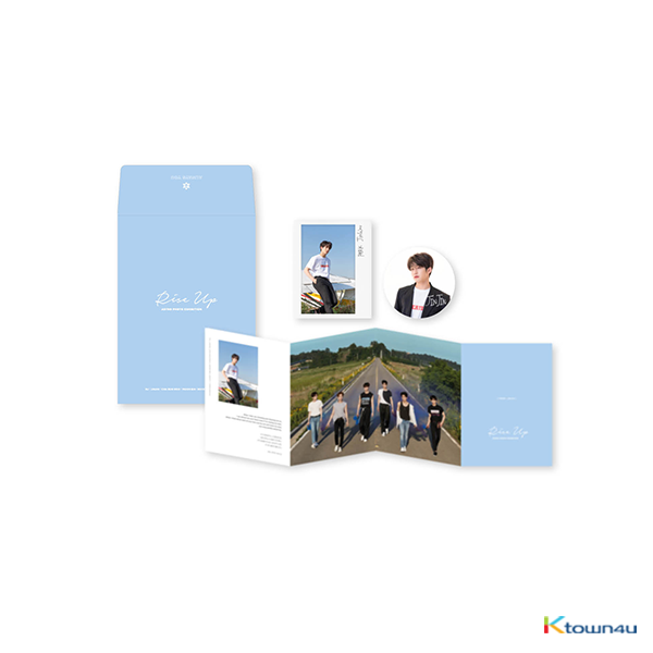ASTRO - MESSAGE ENVELOPE [PHOTO EXHIBITION OFFICIAL GOODS] (Order can be canceled cause of early out of stock)