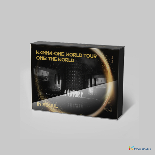 [蓝光Blu-Ray] WANNA ONE - WANNA ONE WORLD TOUR ONE : THE WORLD IN SEOUL BLU-RAY 内含首批特典