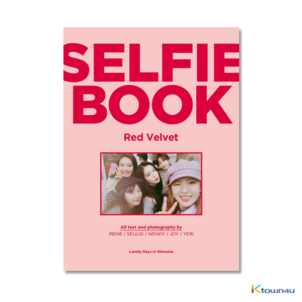 [写真自拍书] Red Velvet - SELFIE BOOK : RED VELVET #2