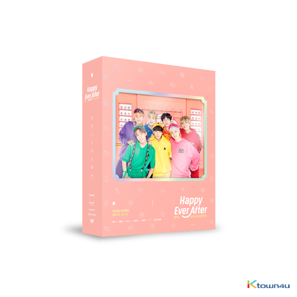 [DVD] 防弹少年团 - BTS 4th MUSTER [Happy Ever After] DVD