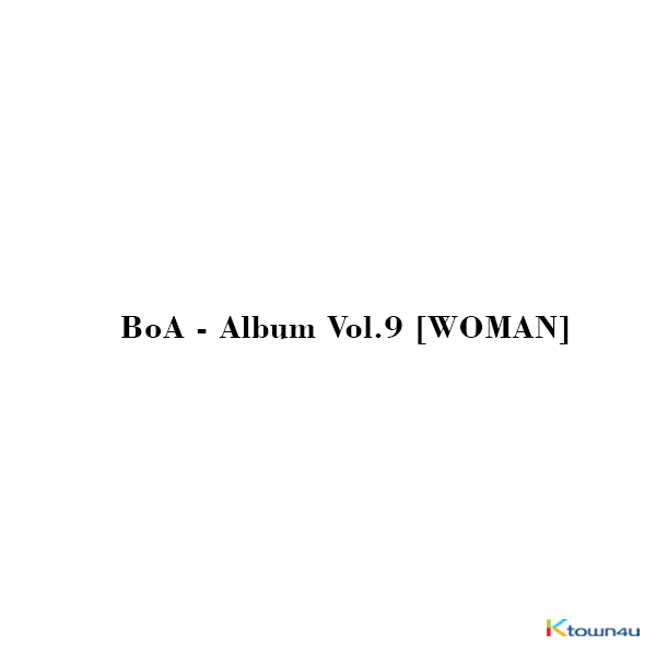 BoA - Album Vol.9 [WOMAN]