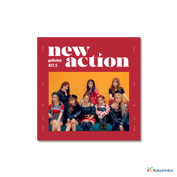 Gugudan - 迷你3辑 [Act.5 New Action]