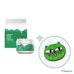 [赠送化妆包] [costagram] OKCAT MILK FACE CREAM 牛奶美白面霜 (2PM : 玉泽演)