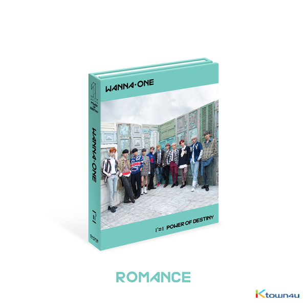 WANNA ONE - 正规1辑 [1¹¹=1 (POWER OF DESTINY)] (Romance版) *12月末入库非现货