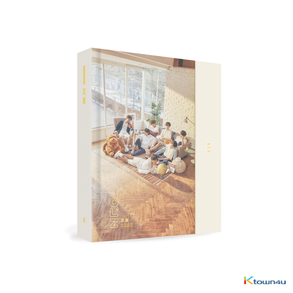 [Not for Sale] [写真] BTS 防弹少年团 - 2018 BTS EXHIBITION BOOK [오,늘] (Only ship out Album / Not include poster, special gift)