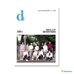 [杂志] D-icon : Vol.3 Seventeen IDEAL CUT Think about CARAT [2018]