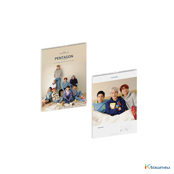 PENTAGON - 2019 SEASON'S GREETING 2019年台历套装