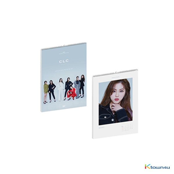 CLC - 2019 SEASON'S GREETING 2019年台历套装