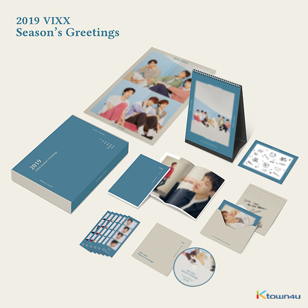 VIXX - 2019 SEASON'S GREETING 2019年 台历套装