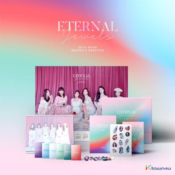 Apink - 2019 SEASON'S GREETING [ETERNAL JEWELS] 2019年 台历套装