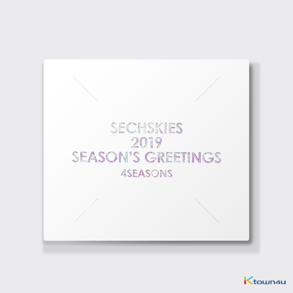 水晶男孩 SECHSKIES - 2019 SEASON'S GREETING 2019年 台历套装