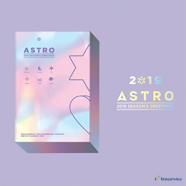 ASTRO - 2019 SEASON'S GREETING (HOLIDAY版) 2019年 台历套装
